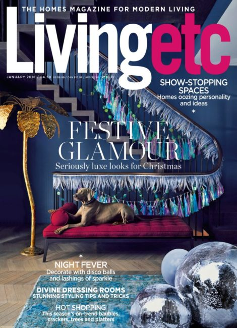 Our project features on the cover of Livingetc thumbnail